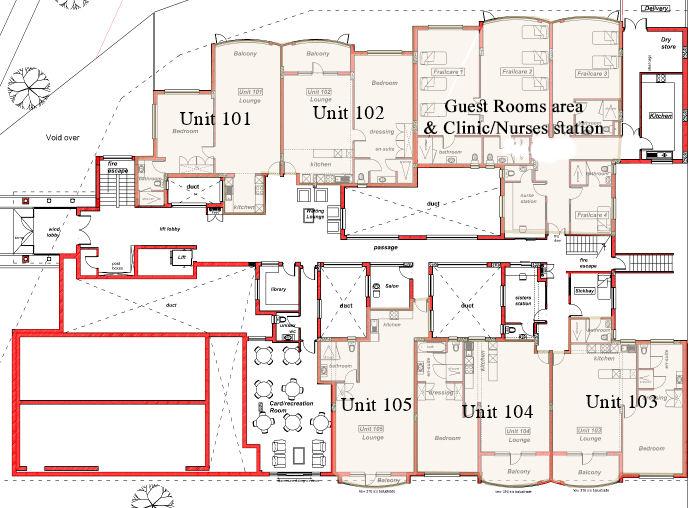 Bedsitter apartment plans for Apartment complex floor plans